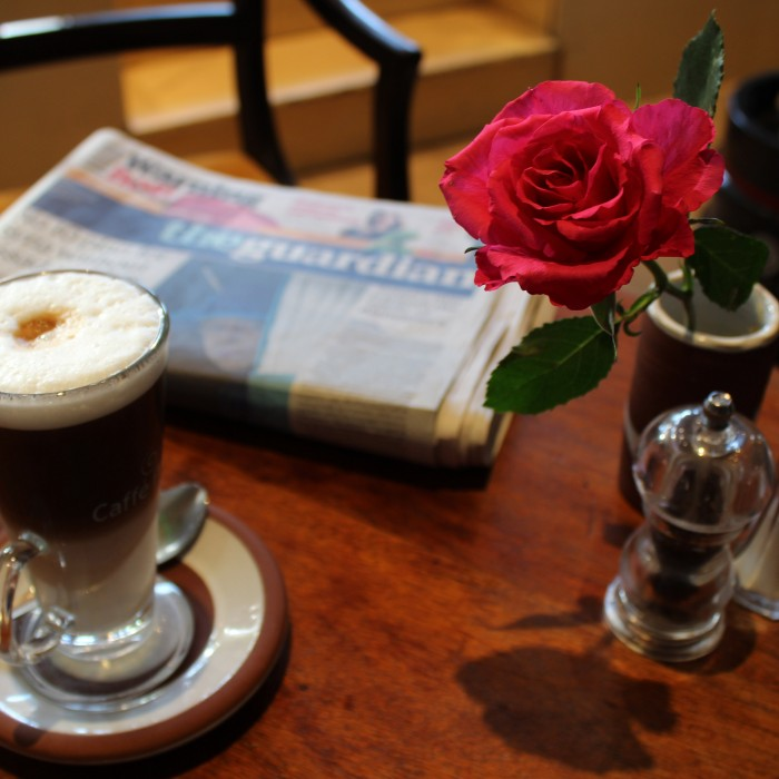 Map Café London's most romantic cafes