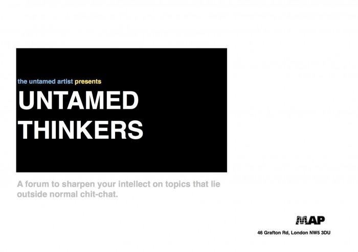 untamed thinkers blank