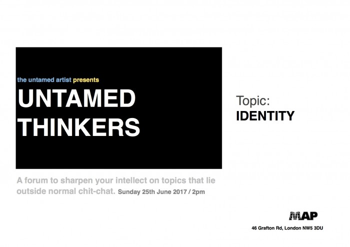 untamed thinkers poster IDENTITY