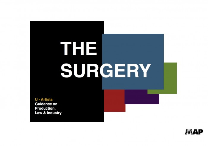 the surgery poster.