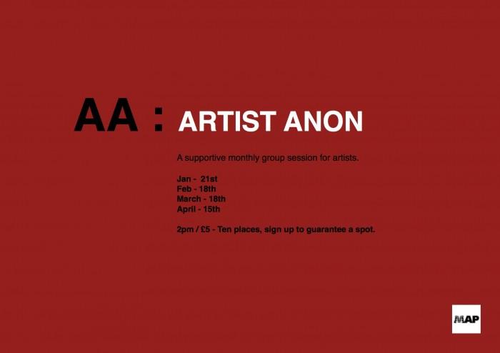 AA- Artist Anon Poster