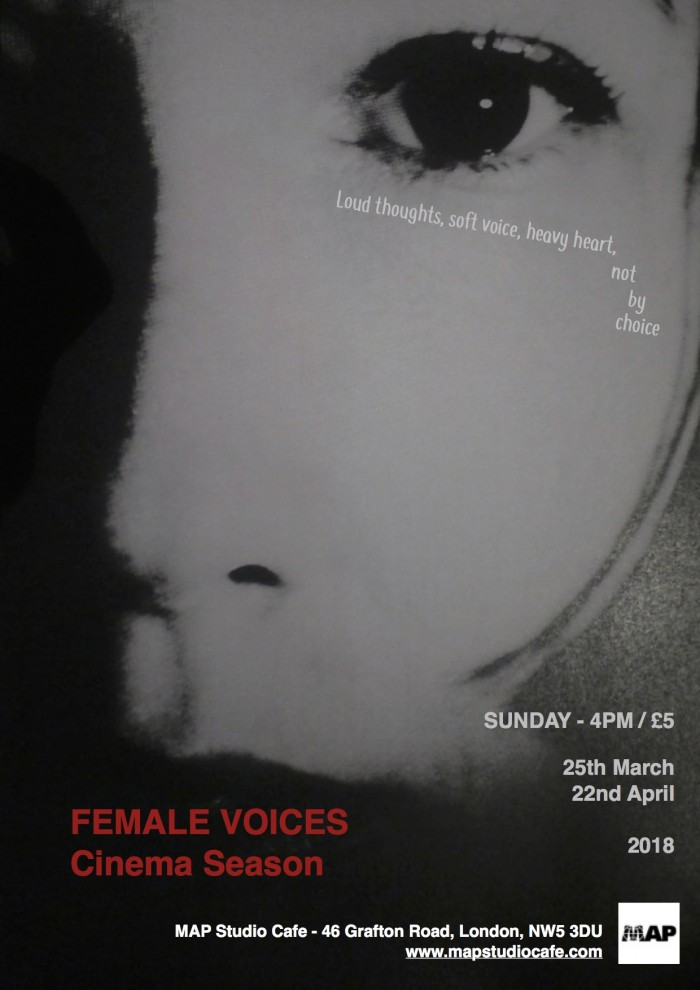 Female Voices - Cinema Season poster -