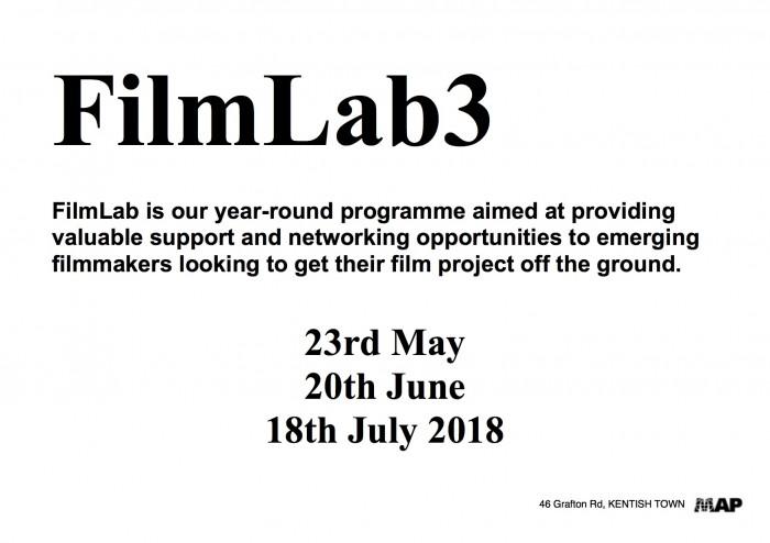 FILM LAB poster